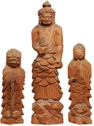 不動明王および二童子立像