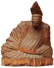 柿本人麿坐像