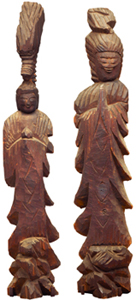 Standing Dragon Head Kannon Bosatsu (Avalokitesvara),Standing Sho-Kannon Bosatsu (Avalokitesvara)