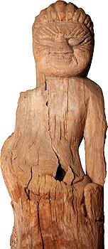 Standing Kongo Rikishi (Ungyo of Nio pair)