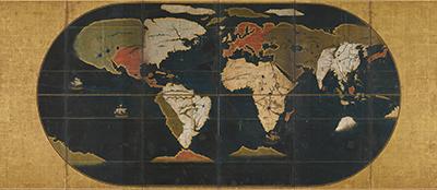 世界図屏風
