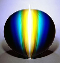 Jar with brilliant glaze             Named Eternal River