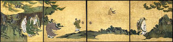 列子図襖 江戸時代・17世紀 アメリカ・メトロポリタン美術館蔵