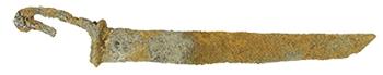 修理前の毛抜形蕨手刀
