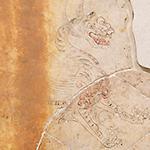 キトラ古墳壁画「四神」より「白虎」(部分)