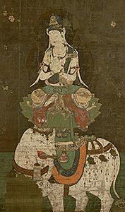 国宝 普賢菩薩像