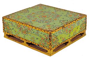 緑地彩絵箱(中倉155)