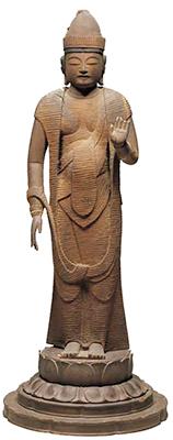 Standing Sho Kannon Bosatsu