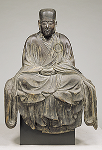 Seated figure of Minnan Yosai