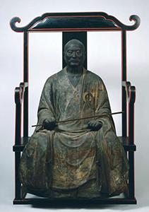 重要文化財 中巌円月坐像