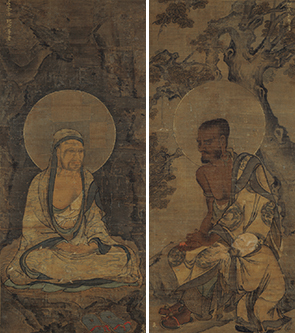 重要文化財 十六羅漢図