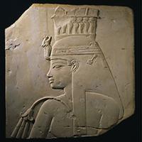 アメンヘテプ3世の王妃ティイのレリーフ