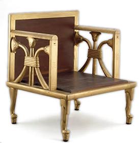 王妃ヘテプへレスの肘掛椅子(複製)
