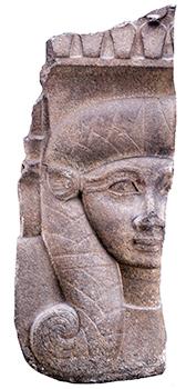 ハトホル女神の柱頭