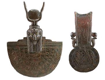 神の楯とメナト形のおもり