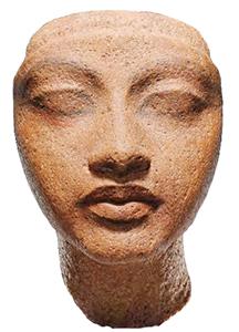王妃の頭部