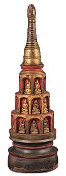 Model of a Pagoda
