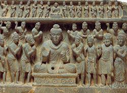 カーシャパ兄弟の仏礼拝