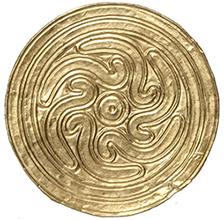 円形飾り板
