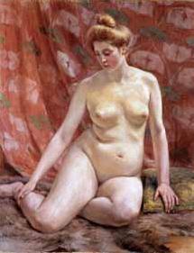 裸体婦人像