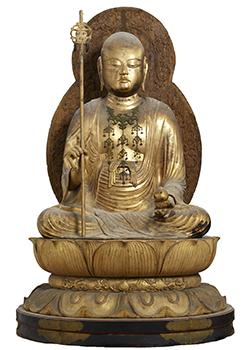 重要文化財 地蔵菩薩坐像