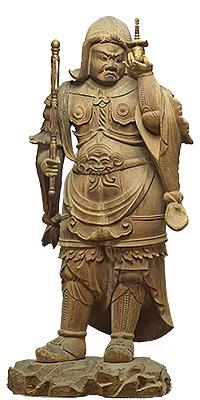 重要文化財 毘沙門天立像