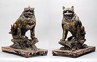 獅子・狛犬 鎌倉時代・13世紀ほか 春日大社蔵