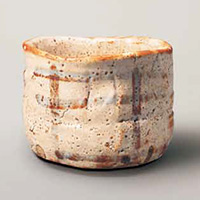 国宝 志野茶碗 銘 卯花墻 美濃 安土桃山時代・16~17世紀 東京・三井記念美術館蔵