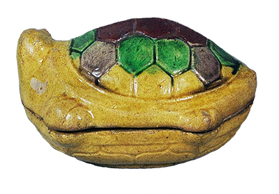 Incense Container, Large tortoise shape, Cochin type