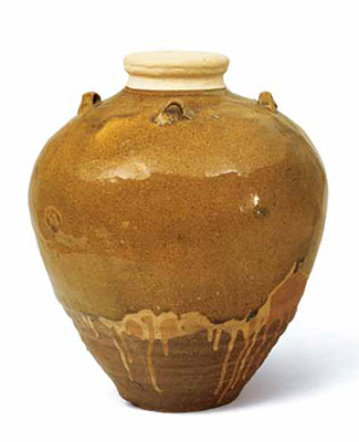 "Tea Leaf Jar, Known as Shoka (""pine flowers"")"