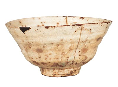 "Tea Bowl, Amamori (""rain-dripping"") type"