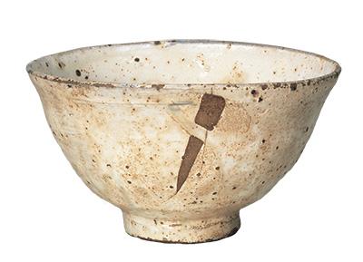 """Tea Bowl, Kohiki (""""powdery"""") type, Known as the Miyoshi kohiki"""