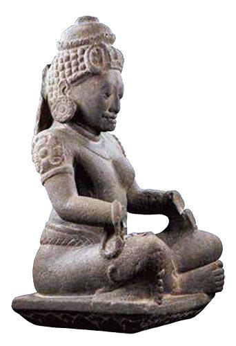 アルダナーリーシュヴァラ坐像