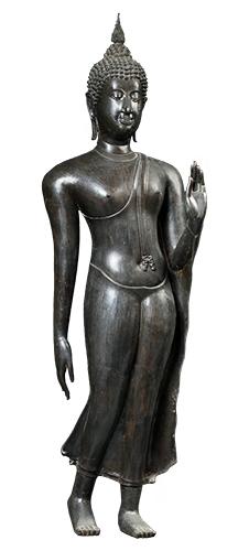 仏陀遊行像
