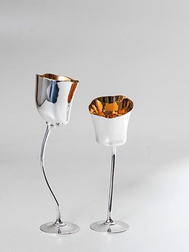 グラス「チューリップ」 ロラン・ダラスプ