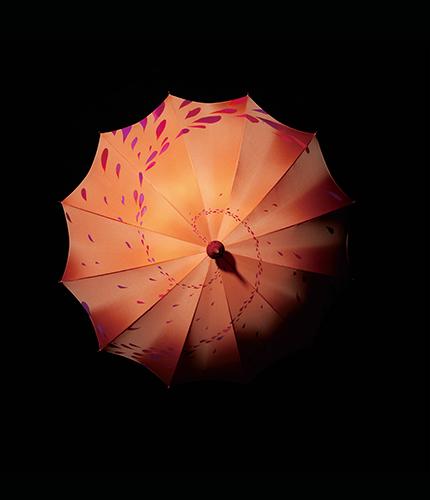傘「イシス」 ミシェル・ウルトー