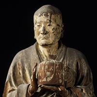 国宝 無著菩薩立像(部分) 運慶作 建暦2年(1212)頃 奈良・興福寺蔵