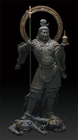 国宝 毘沙門天立像 静岡・願成就院蔵