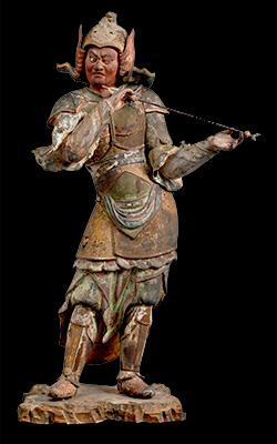 重要文化財 十二神将立像(亥神)  京都・浄瑠璃寺伝来