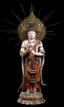重要文化財 聖観音菩薩立像 愛知・瀧山寺蔵
