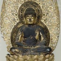 阿弥陀如来坐像 平安時代・康和3年(1105) 京都・仁和寺蔵