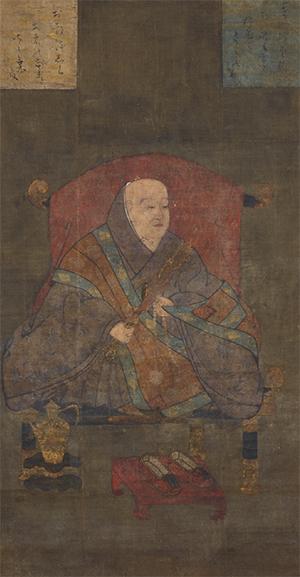宇多法皇像 京都・仁和寺蔵