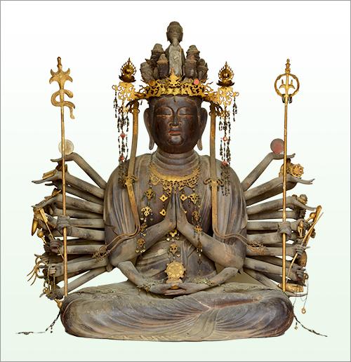 重要文化財 千手観音菩薩坐像 平安時代・12世紀 徳島・雲辺寺蔵