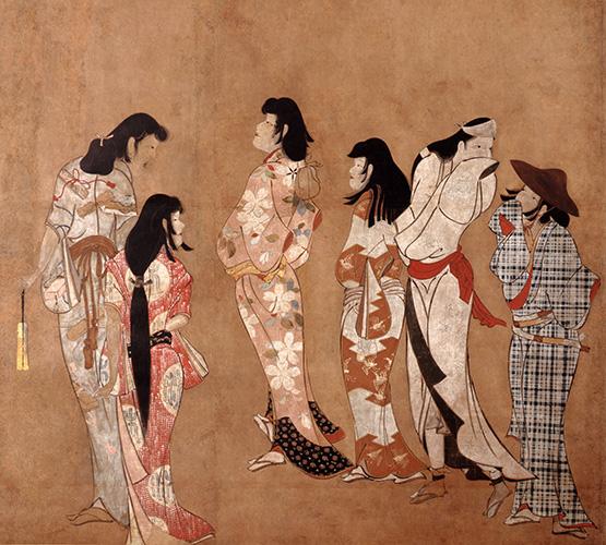 重要文化財 湯女図 江戸時代・17世紀 静岡・MOA美術館蔵