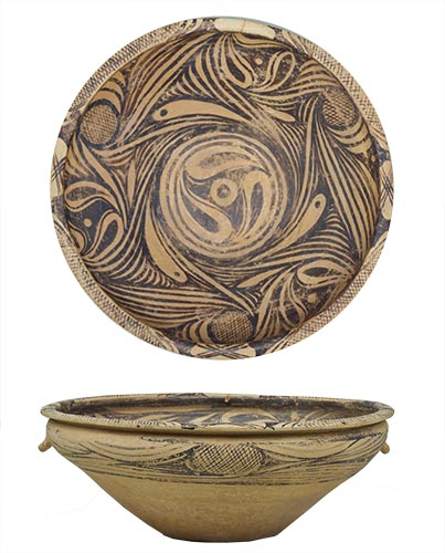 彩陶(さいとう)鉢