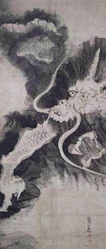 Dragon By Tawaraya Sotatsu