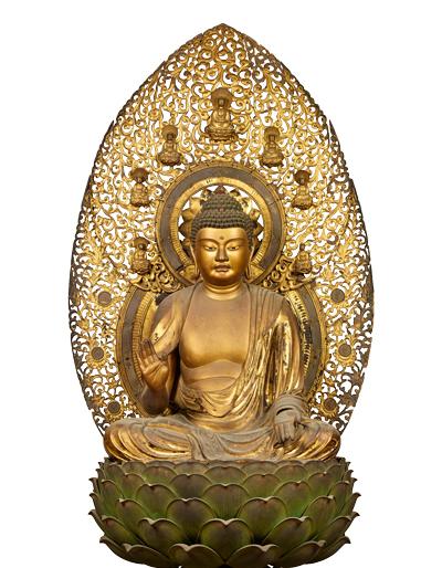 重要文化財 釈迦如来坐像