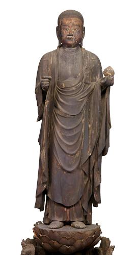 Standing Jizo Bosatsu (Ksitigarbha)