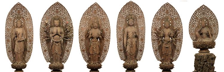 重要文化財 六観音菩薩像