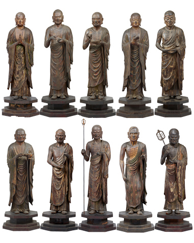 Ten major disciples of Buddha